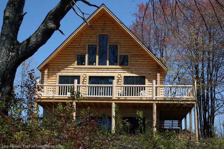 Reasons to add a basement to your log home plus how to for Log cabin floor plans with walkout basement