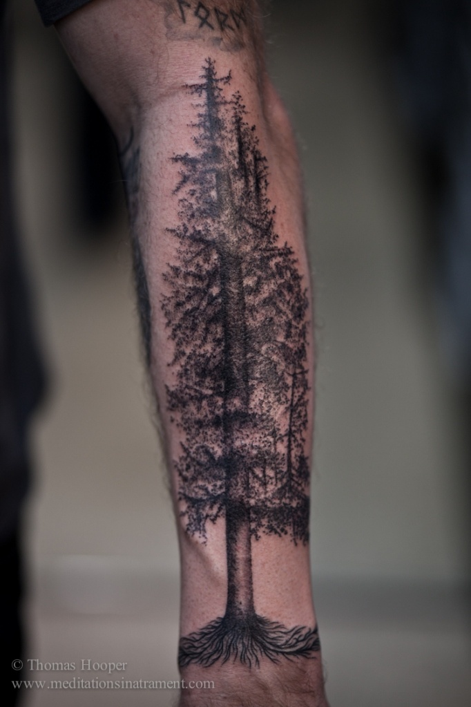 In to the Forest - Thomas Hooper - An amazing tree tattoo