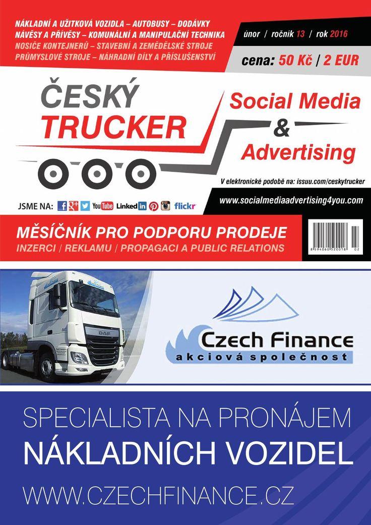 Český Trucker únor 2016