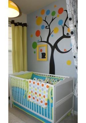 À espera ansiosa de mais um membro na família, os pais abusam do zelo na hora de decorar o quarto do bebê. Os mais tradicionais optam por uma cor só, como verde ou azul para os meninos e rosinha ou lilás para as meninas. Há ainda os pais que apostam - Veja mais em: http://www.vilamulher.com.br/familia/bebes/tendencias-para-quartos-de-bebe-8-1-54-309.html?pinterest-destaque