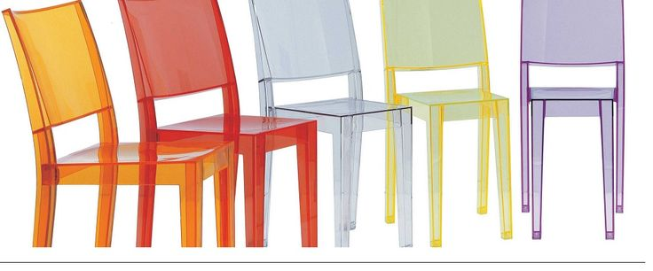 Sedie Kartell Plastic Design
