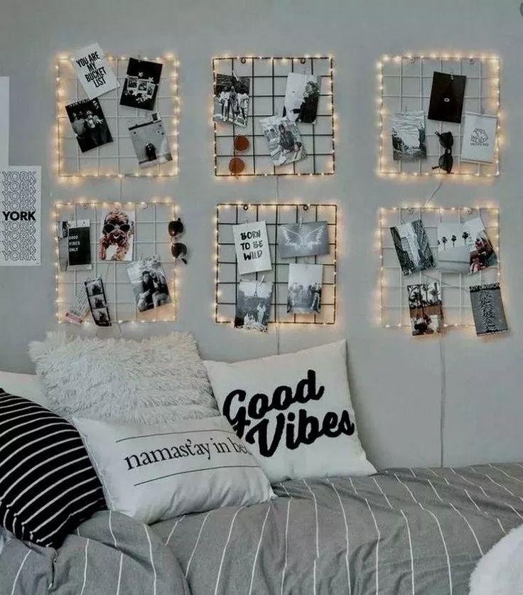 27+ Dorm Room Essentials Create a Stylish Space #stylishdormroom #dormroomdecor …