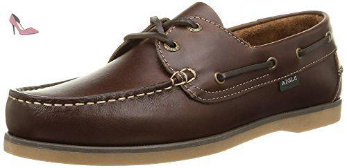 Aigle Belan, Chaussures bateau homme, Marron, 44 EU - Chaussures aigle (*Partner-Link)