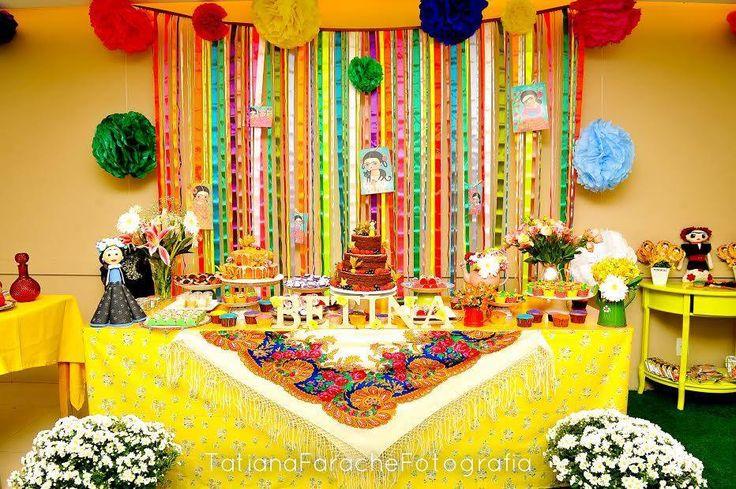 tema festa infantil frida kahlo - Pesquisa Google