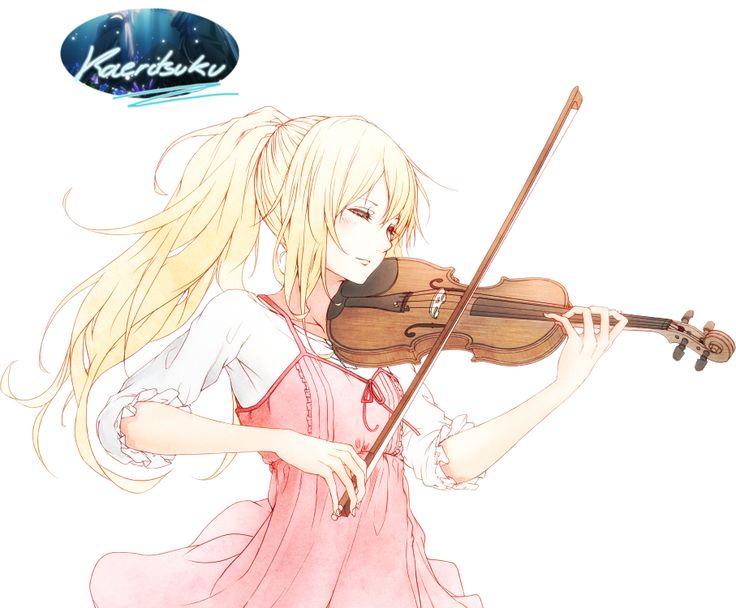 Les 25 meilleures id es de la cat gorie fille blonde anime - Dessiner un violon ...