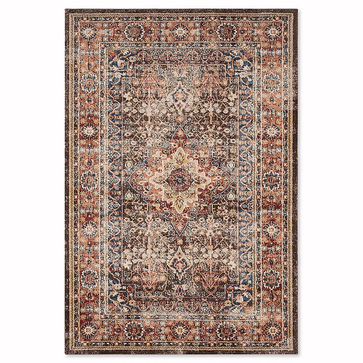 Safavieh Bijar Sari 6 7 X 9 Area Rug In Brown Rust