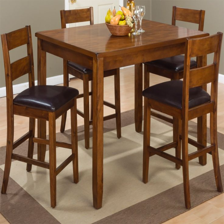 Shop Discount Directs Fabulous Furniture Selection For Your Plantation 5 Pack Counter Height Table Set And Other Must Haves Home At Low Cost