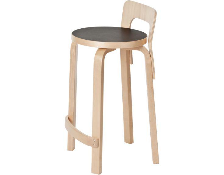 High Chair K65 by Alvar Aalto for Artek
