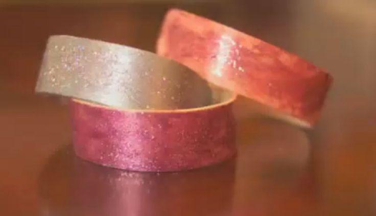 Så gör du armband av glasspinnar!