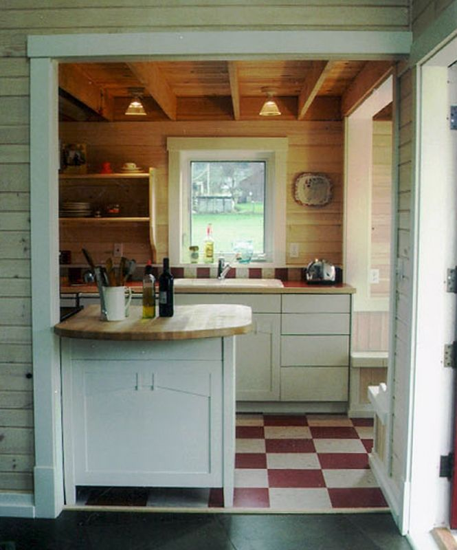 Kitchen Cabinets For Very Small Kitchen: Ross Chapin Architects - Kitchen