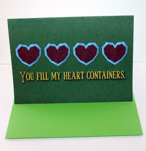 You Fill My Heart Containers.