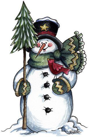 snowmen.quenalbertini: Laurie Furnell Art