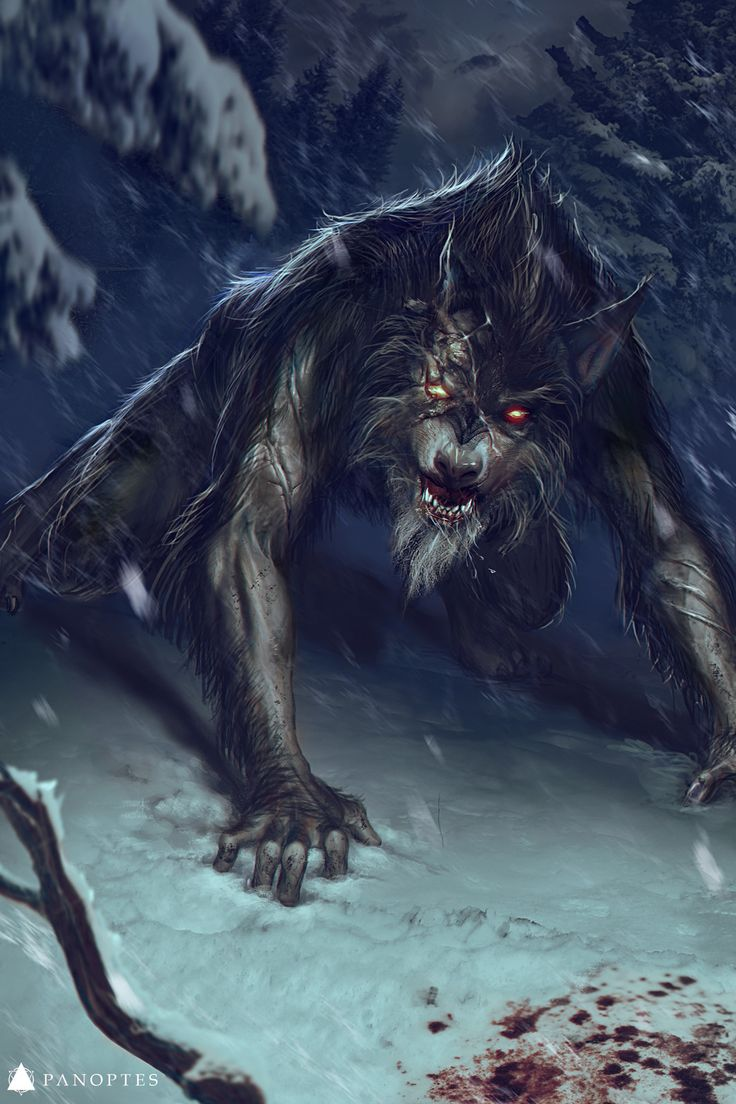 Venerated Werewolf, Floya Mios on ArtStation at https://www.artstation.com/artwork/lzNbY