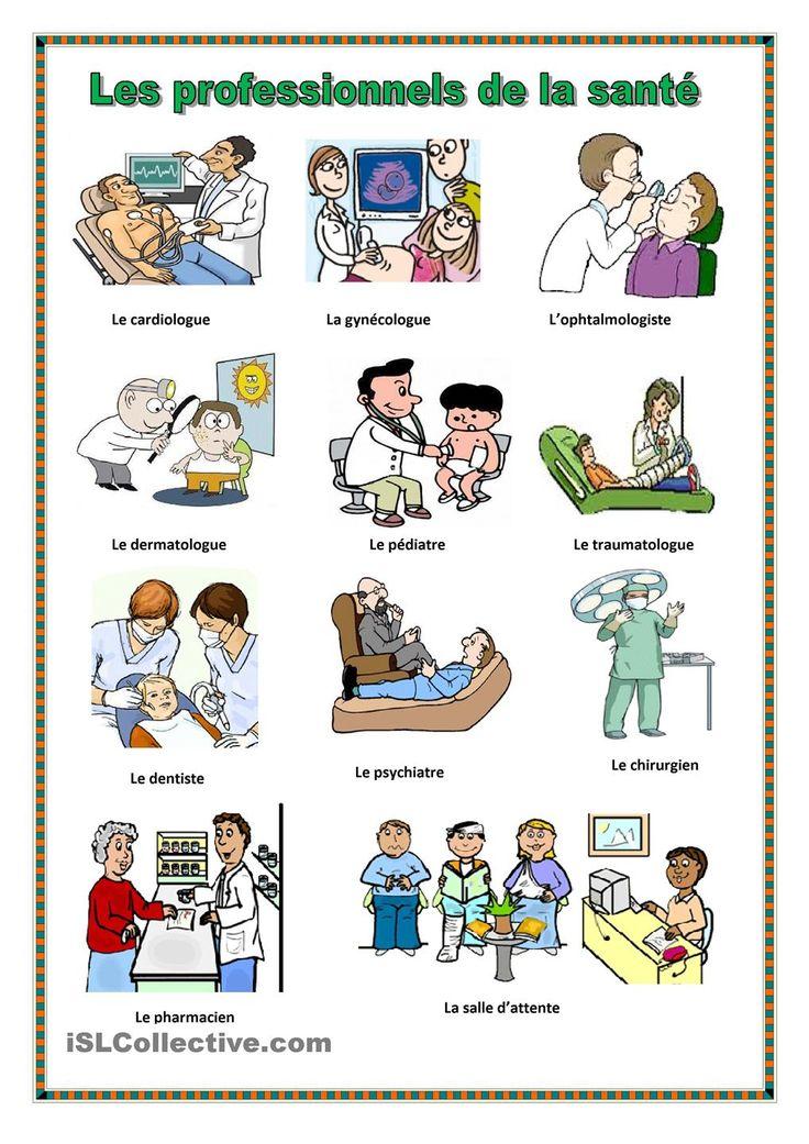 Les professionnels de la santé.