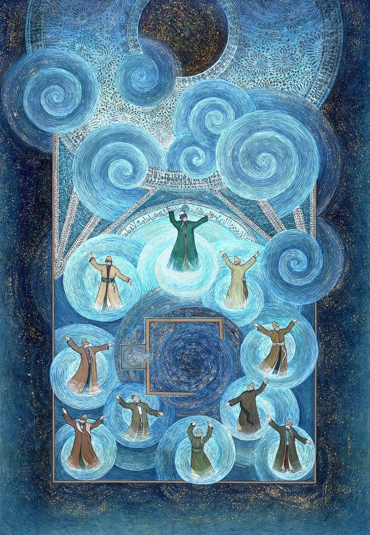 """Rumi's Firmament in the Karatay Madrasah"" by Gulcin Anmac."