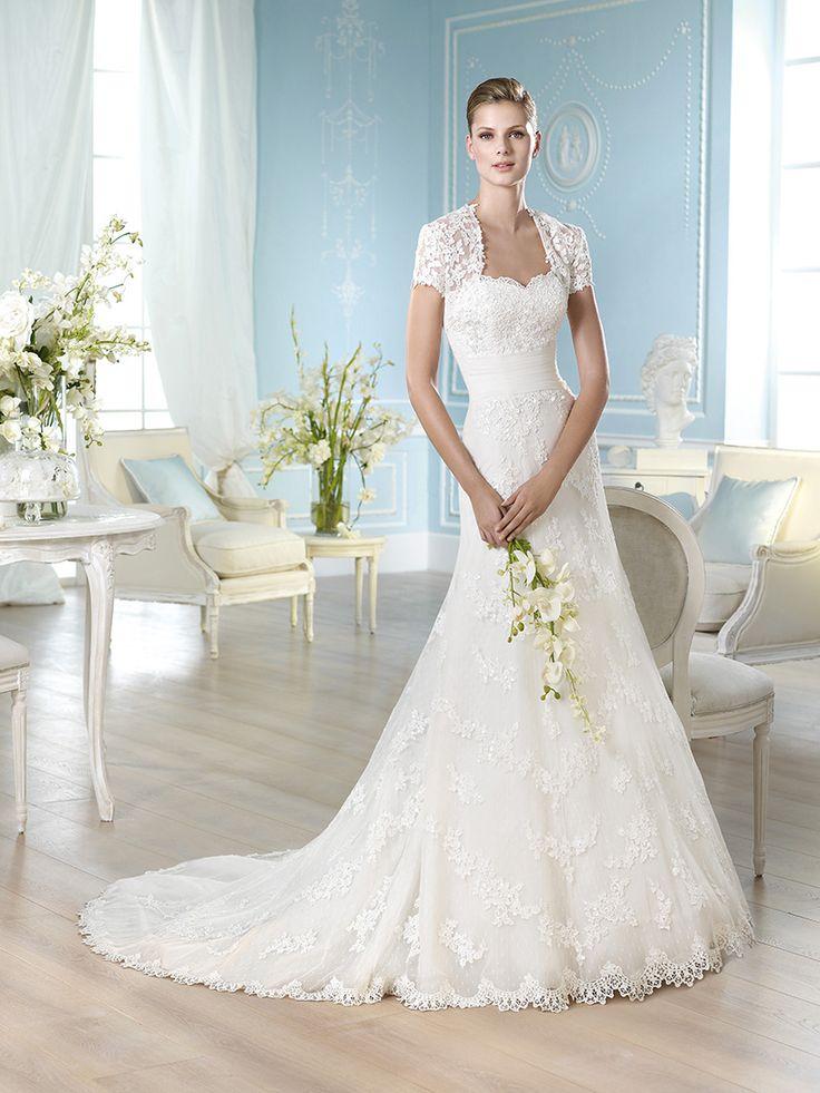 Vestido de novia, modelo Haring de St. Patrick 2014  www.sanpatrickgranada.es