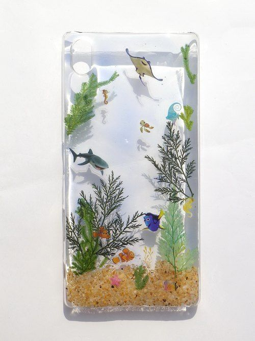 Annys workshop, Handmade phone case, Sony Xperia P, Under the sea