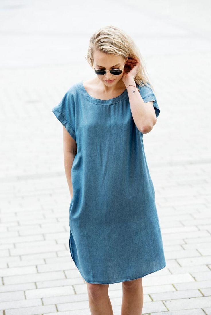 MISSMAYA Denim Dress