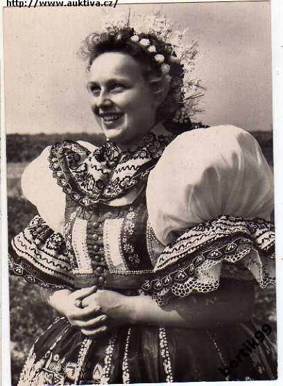Kyjov folk costum;