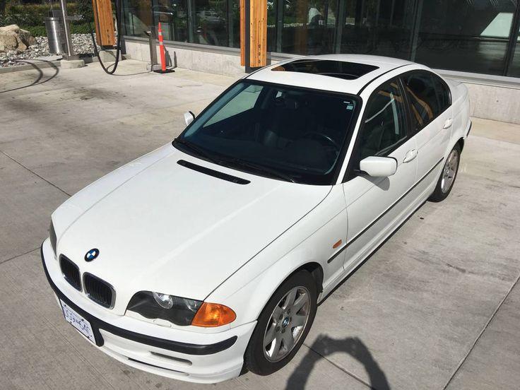 1999 White BMW 323i