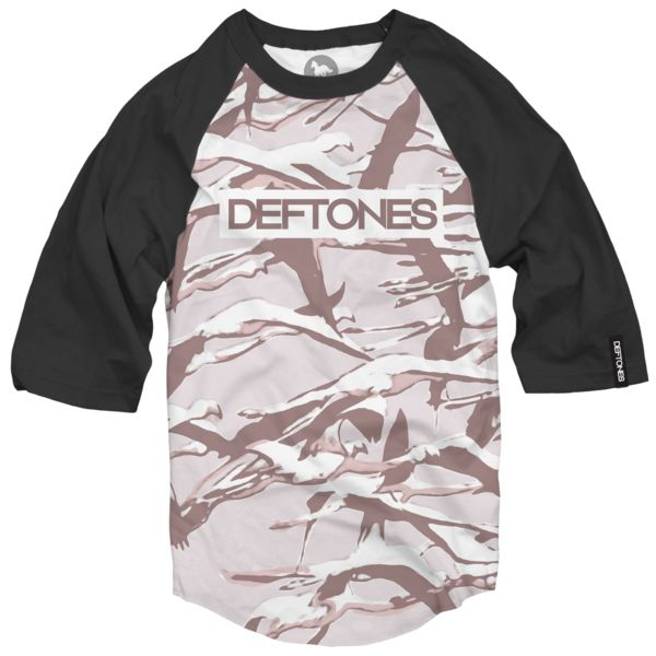 Deftones                 - Gore Dye Sub Raglan