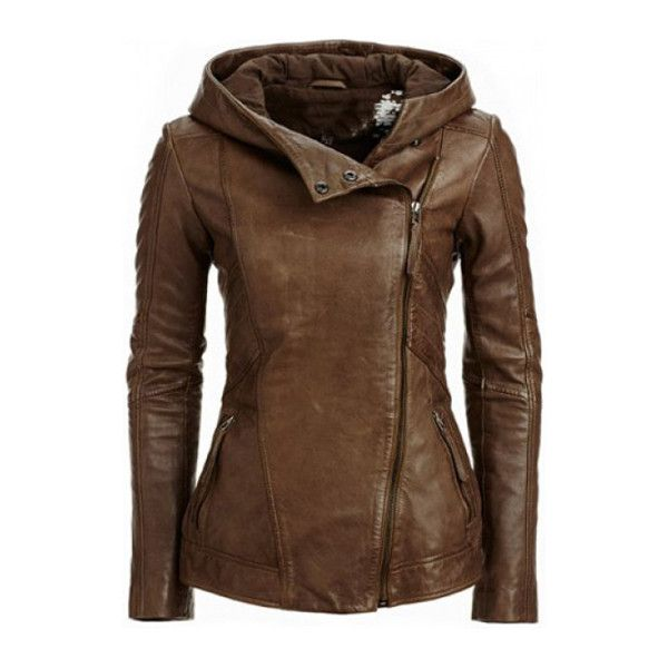 17 Best ideas about Hooded Leather Jacket on Pinterest | Leather ...