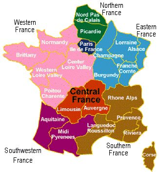 Wine Tours France - wine tour itineraries operators, food, cuisine & accommodation