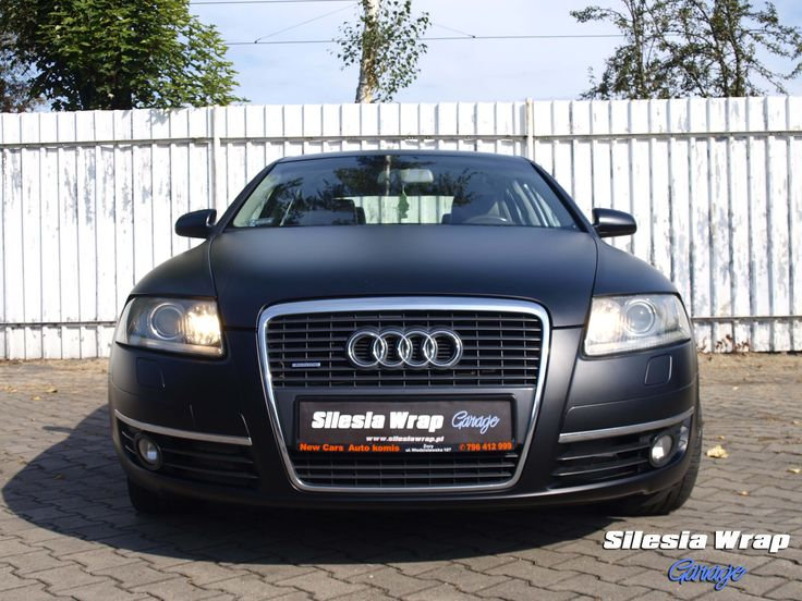 Audi A6 C6 Mactac - Black Matt Oklejanie samochodów Katowice