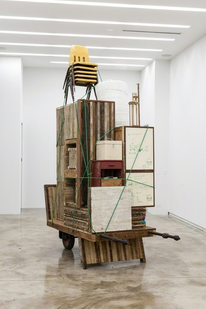 Theaster Gates Sculpture -LOVED his show at MOCA, Los Angeles 2-3 yrs ago....