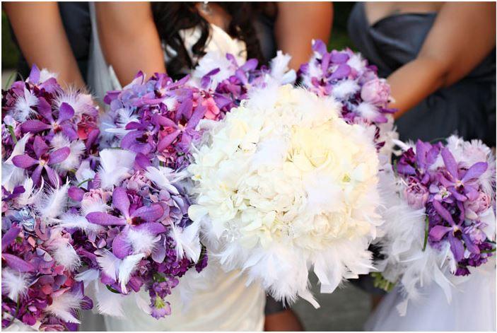 Purple Winter Wedding Flowers ~ Cynthia's Inspiration Board