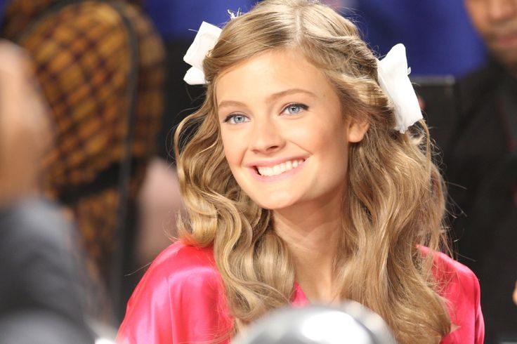 ~ Constance Jablonski, backstage of the Victoria's Secret fashion show.