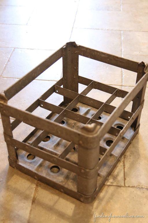 GalvanizedCrate thumb Junkers United – Repurposed Milk Crate Stool
