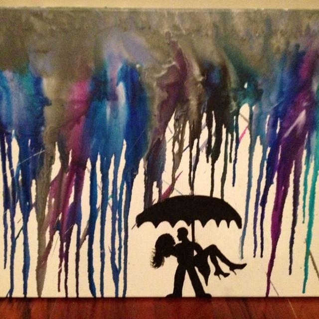 Crayon art! So proud! ;-)
