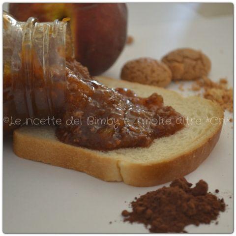 Le ricette del bimby e....molte altre! *CRI* Composta di pesche, amaretti e cioccolato di Luca Montersino