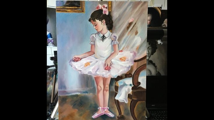 ballerina painting / classical style