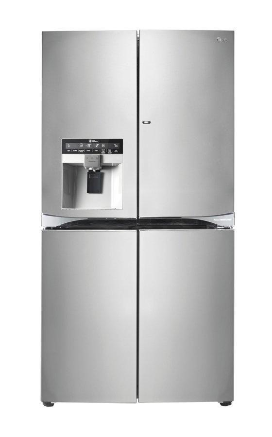 Frigorífico Americano - LG GMJ916NSHV Total No frost, Clase energética A+, dispensador hielo y agua