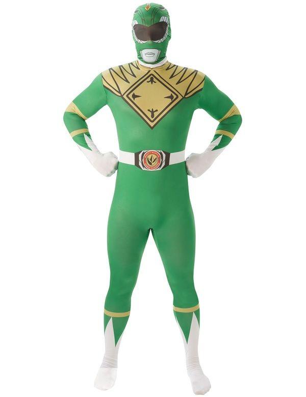 Adult Green Power Ranger 2nd Skin Costume