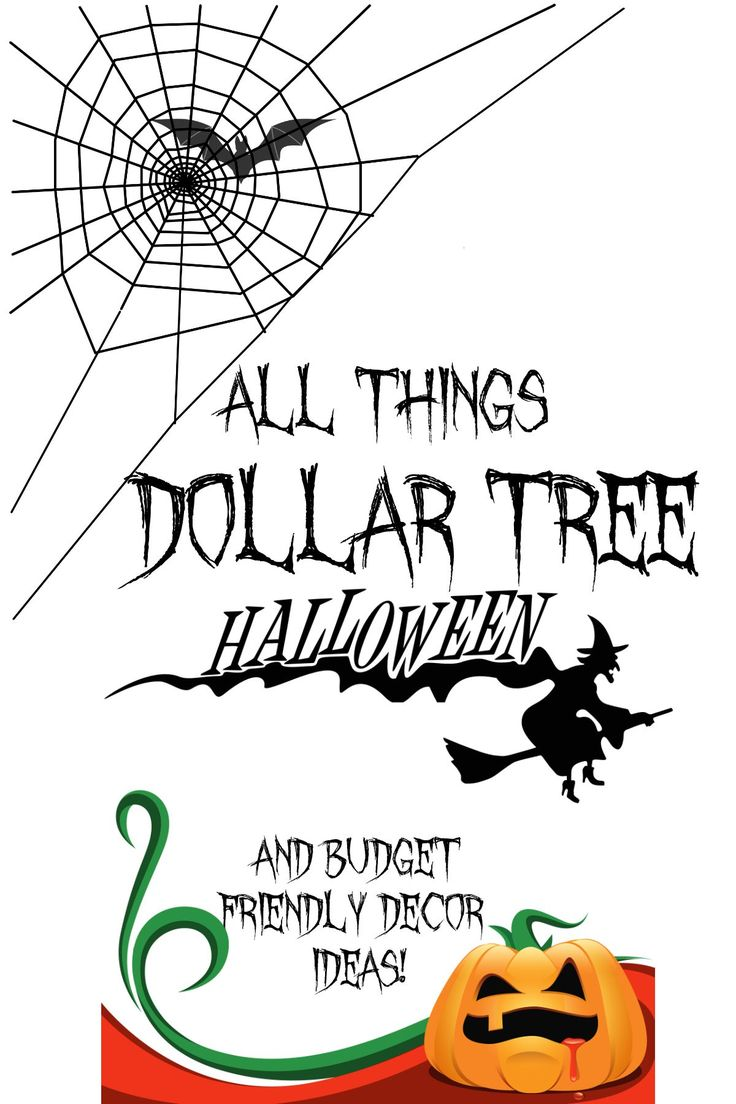 over 100 halloween decor and budget friendly dollar tree ideas craft stores and more - How To Decorate For Halloween On A Budget