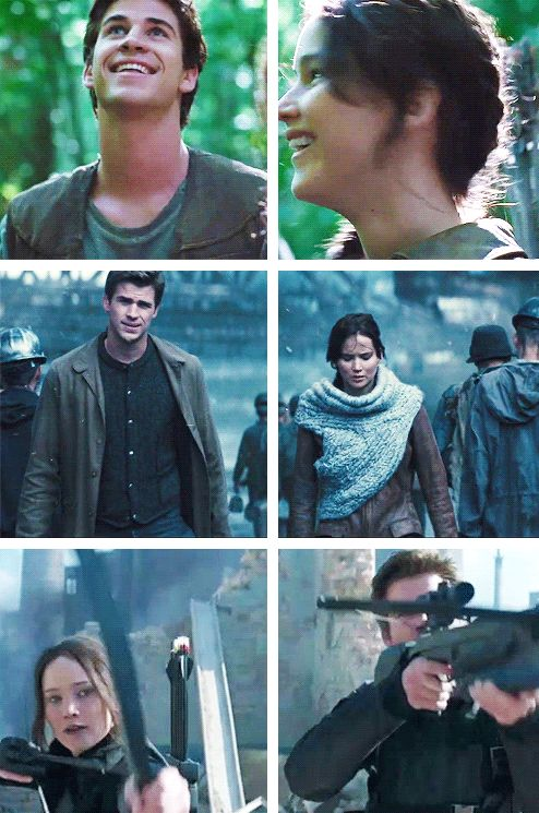 """""""Maybe I'll be like that man in 'The Hanging Tree'. Still waiting for an answer."""" Gale, who I have never seen cry, has tears in his eyes."""
