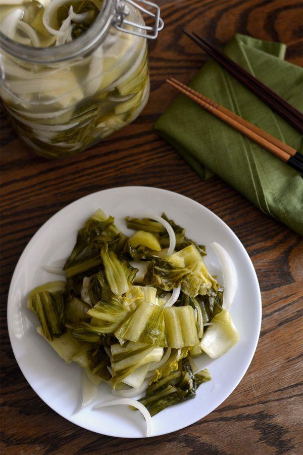 Yum! Recipe: Easy & delicious Vietnamese pickled mustard greens (dua chua)