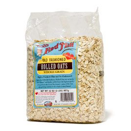 2009 Rolled Oats (best oats for baking) WINNER  Bob's Red Mill (also recommended Quaker Old-Fashioned Rolled Oats)