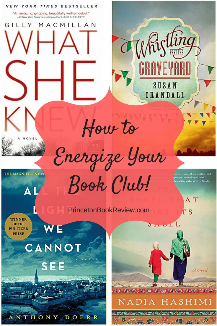 How To Find Amazing Books That Will Energize Your Book Club!