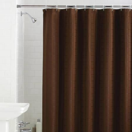 1497 Brown Shower Curtain