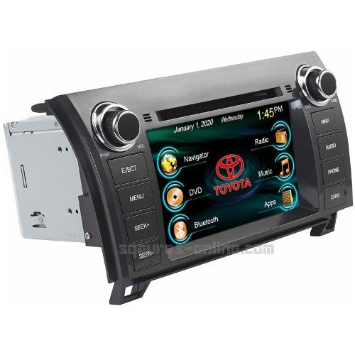 Special Offers - 2007 08 09 10 11 12 13 Toyota Tundra 2008 09 10 11 12 13 14 Toyota Sequoia In-dash DVD GPS Navigation Stereo Bluetooth Hands-free Steering Wheel Controls Touch Screen iPod iPhone-Ready Deck AV Receiver CD Player USB SD MP3 AVI Video Audio NAVI Radio Square-S SS2050TT w/ Digital TV Rear View Camera Option OEM Replacement - In stock & Free Shipping. You can save more money! Check It (June 21 2016 at 10:45PM)…