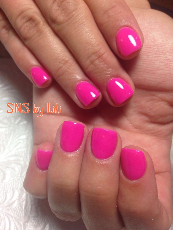 SNS nails ( dipped powder nails ) !