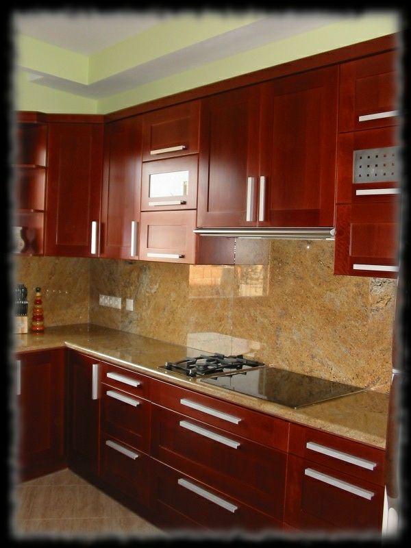 Épületmunkák - gránit konyhapult és falburkolat