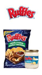 #Ruffles - Save $2.00 off your next purchase of a bag of Ruffles® potato chips (215 g – 380 g, any flavour) AND Ruffles® dip (425g, any flavour)  #onlinecoupons #printablecoupons #tastyrewards.ca - http://canadiancoupons.net/206213/ruffles-save-2-00-off-your-next-purchase-of-a-bag-of-ruffles-potato-chips-215-g-380-g-any-flavour-and-ruffles-dip-425g-any-flavour/online-coupons/cookies/ruffles/?utm_content=bufferdb5f1&utm_medium=social&utm_source=pinterest.com&utm_campaign=buffer