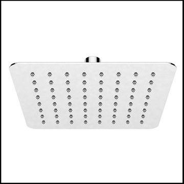 Minimalistisk brusehoved Piano Quadrato 20