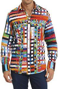 Robert Graham Valley of Kings Classic Fit Medium-sized New Shirt