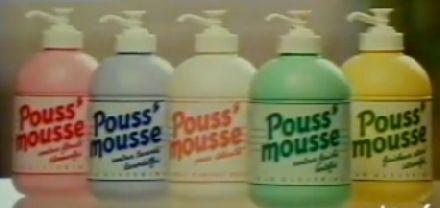 Poussmousse on pousse ça mousse c'est pratique c'est magique c'est bien plus malin pour se laver les mains !!!